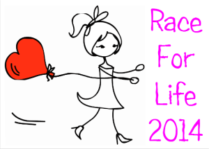 Race For Life girl