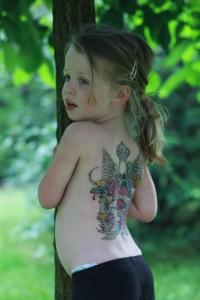 Mysza chciała mieć tatuaż